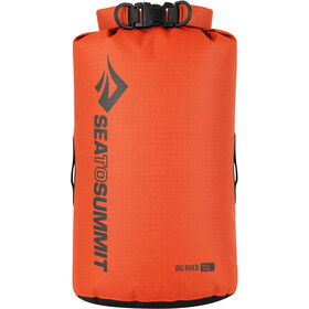 Sea to Summit Big River Bolsa seca 13L, orange
